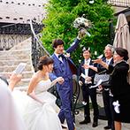 会津 写遊庭:会場開催のイベントで、楽しい思い出作り。音楽好きのふたりをトリコにした、あのガーデンパーティを再現!