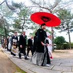 ホテルニュープラザ KURUME:久留米城跡に鎮座する篠山神社で和婚。新婦の嫁入りを改めて感じる、神前式ならではの儀式に胸が熱くなった
