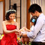 ホーリーザイオンズパーク セント・ヴァレンタイン:ドレスの色当てクイズで再入場シーンは大盛り上がり。色とりどりの光に迎えられ、幻想的なムードを楽しんだ