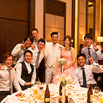 軽井沢プリンスホテル フォレスターナ軽井沢:アレルギーに対するシェフの心遣いで、絶品料理が大好評!写真撮影など、ゲストと幸せなひと時を過ごした