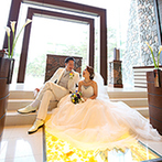 軽井沢プリンスホテル フォレスターナ軽井沢:自然に溶け込むかのようなガラス張りのチャペルに心を奪われた。旅行も兼ねた結婚式でゲストと楽しむことに