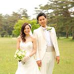 軽井沢プリンスホテル フォレスターナ軽井沢:軽井沢の清らかな大自然に囲まれたゲストハウス。大切な人たちを大勢招待して、幸せをわかちあう結婚式を