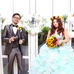 ベイサイド迎賓館 静岡:提案力にすぐれたプランナーのサポートでオリジナリティ満載の一日に。新婦の理想の花嫁姿も叶って大満足