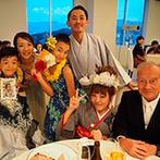 オリエンタルホテル広島:思い出の振袖を着て、ゲストとのふれあいを満喫。結婚式を通して、家族とゲストに最大限の感謝を伝えられた