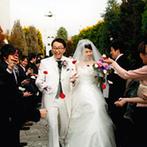 ホテルナゴヤキャッスル:名古屋城を望む景色もおもてなしになる老舗ホテルに安心感。新婦の思いに寄り添ってくれたスタッフも魅力