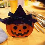THE VILLA HAMANAKO:ガーデン付きの貸切り会場をハロウィン一色に!パーティの主役は新郎新婦と、ふたりが大好きなキャラクター