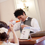 Le Timbre(ル・タンブル) BEST WESTERN Hotel Nagoya内:ふたりが「おもしろそう!」という提案を次々に出してくれたプランナー。柔軟な考えで希望がすべて叶った