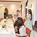 蓼科東急ホテル:美食を堪能しながら思い出話に花を咲かせるひと時。ゲストへのインタビューでさらにアットホームなムードに