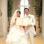 ザ・グランドティアラ 一宮:家族の思い出でもある場所で、憧れの結婚式を挙げることに決めた。上質な雰囲気が漂うバンケットも魅力的