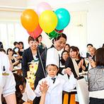ララシャンス 迎賓館●伊万里迎賓館:子どもが登場する場面をつくって和やかなムードにしては?ケーキにもこだわってオリジナリティを発揮しよう