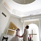 ララシャンス 迎賓館(伊万里迎賓館):感謝のムービーや舞い降る天使の羽根、愛娘の登場など、一瞬一瞬が思い出に残る素敵なセレモニーが実現