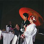 アクアデヴュー佐賀スィートテラス:希望していた和婚に対応してくれることがポイント。美味しい料理や落ち着いた雰囲気の空間が決め手に