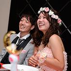 THE AIR BALE CLUB(アイル バレ クラブ):演出や進行、コーディネート…結婚式をともに創り上げたプランナーをはじめ、支えてくれたスタッフに感謝