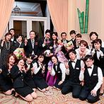 ホテルグランドティアラ 安城:希望を実現する多彩なアイデアで、挙式から二次会まで手厚くサポート。スタッフと一緒に作り上げた結婚式