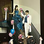 グリーンキャメロット リバーサイド:披露宴と同じ場所での二次会なら、ドレス姿を披露することも。第三者の意見を参考に、理想の衣裳と出会って