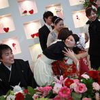 アルカーサル ビエントス:バレンタインがテーマのパーティはとびきりスウィート!ふたりが両家両親にプレゼントを贈る感動のシーンも