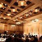 ホテルオークラ福岡:小さな頃に新婦が見た幸せなウエディング空間。プランナーの人柄や会場のキャパシティに惹かれて決定!