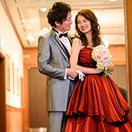 ホテルモントレエーデルホフ札幌:入念なお肌のケアで、より美しいドレス姿に。プロカメラマンにお願いして、幸せな瞬間を美しく残そう