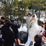 エクシブ琵琶湖:歴史と格式ある会場で、ゲストに寛いでもらいたいふたり。1日2組限定の会員制ホテルは、アクセスも良好!
