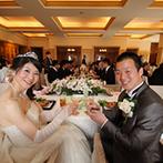 エクシブ琵琶湖:終始、丁寧な対応で結婚式をサポートしてくれたプランナー。念入りなリハーサルメイクのおかげで当日も安心