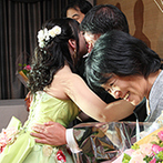HOTEL HANSHIN OSAKA(ホテル阪神大阪):阿吽の呼吸でわかりあえる同世代のプランナー。司会も音響スタッフも細かく要望を聞いて叶えてくれた