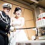 KKRホテル大阪:プランナーの協力で、新郎へのサプライズは大成功!ふたりだけでなくゲストも大満足の一日を叶えてくれた