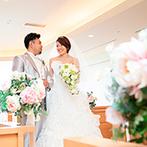 KKRホテル大阪:何を大切にするのか、まずはふたりで話し合おう。ゲストに想いが伝わる方法をスタッフが提案してくれるはず