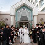 ホテル日航奈良:奈良駅西口に直結した好アクセスのホテル。温かく迎えてくれたホテルのスタッフと、ゲストをもてなす結婚式