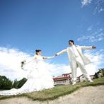 グランドエクシブ那須白河:広大な敷地でのびのびと楽しむ結婚式をイメージ。地元&遠方ゲストも宿泊もできるゴルフ場併設の会場に決定