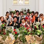 アーヴェリール迎賓館 富山:エスコートカード代わりのサングラスがゲストの間で話題に。サプライズに協力してくれたスタッフにも感謝!