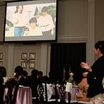 アーヴェリール迎賓館 富山:赤ちゃんを授かったふたりを祝福し、細やかな配慮でサポート。大切な家族への想いを映像&手紙で伝えられた