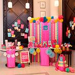 アーヴェリール迎賓館 富山:バレンタインにちなんだビュッフェが大好評!ピンク&ブルーに彩られた華やかな装飾がゲストの間で話題に