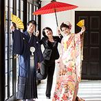 アーククラブ迎賓館 新潟:専属プランナーによる徹底したサポート体制が心強かった。どんな時も想いを受けとめ、ふたりを支えてくれた