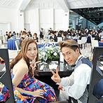 Geo World VIP(ジオ・ワールド ビップ):ドレスも和装も映える上質な大人のコーディネート。フォトジェニックな空間を活かし撮影タイムを満喫