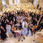 ハミングプラザVIP新潟:親の薦めで見学した会場は、ゲストがゆっくりと寛げる貸切邸宅。広々としたホワイエや料理も気に入った