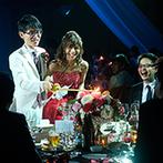 JRホテルクレメント高松:ロマンティックで華やかなキャンドルサービス、家族との演出など、笑顔と感動が広がる特別なひと時