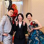 リーガロイヤルホテル広島:想いを叶えるために最善を尽くしてくれたプランナー&スタッフたち。細やかな配慮の数々に感謝でいっぱい