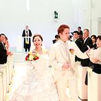 Wグランラセーレ福山:感動のムービー演出ができる純白のチャペルに魅了された。お急ぎ婚のサポート体制も抜群のスタッフが決め手