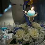 ザ・ハウス愛野(THE HOUSE AINO):提案力とさり気ない気配りで、新婦の夢をかなえたプランナー。こだわりの装花も、期待以上の仕上がりに!
