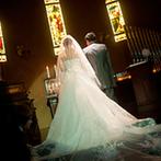 セレス高田馬場 サンタアンジェリ大聖堂:高田馬場駅徒歩1分の便利なアクセスが魅力。ヨーロッパの薫りが漂う本格的な大聖堂の雰囲気に心を奪われた