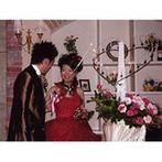GRAN AMO (グラン・アーモ /旧 梅田玉姫殿):新婦のドレスに合わせて、会場は赤でコーディネート。普段は寡黙な新郎の愛に溢れた言葉に、ゲストも感動