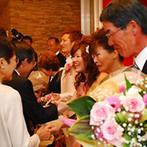 Sun Palace Rokkoh(サンパレス六甲):結婚式はふたりを支える人たちの大切さを再確認できるチャンス。疲れたときはやさしい香りでリフレッシュを