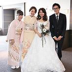 ホテル日航大阪:プロ意識の高いスタッフたちのサポートが心強かった。当日もふたりだけでなく家族やゲストへの対応も満点