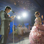 ホテル日航姫路:プランナー、司会者、シェフなど、大勢のスタッフの協力で成功した、新郎から新婦への心を込めたサプライズ