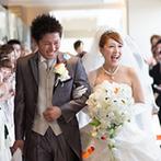 ホテル日航姫路:ドレスの裾が気になっても、胸を張って歩いて。新郎のサポートも重要!メイクリハでより理想の花嫁姿に