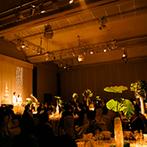 ホテル日航姫路:春の訪れを意識し、会場をグリーンいっぱいの寛ぎの空間に。こだわりを加えたホテルメイドの料理が大好評