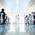 ホテル日航姫路:格式が高く、正統派の結婚式を挙げたいというふたりの希望にぴったり。駅徒歩1分の立地や美食が決め手に