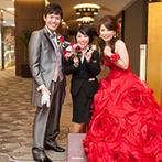 ホテル日航姫路:見学時から当日まで担当してくれたプランナーは、細やかな心づかいもさすが。一緒に理想の結婚式を作った