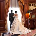 リーガロイヤルホテル:プランナーの親身なサポートで遠方在住のふたりも安心。スイートルームでの前撮りも、特別な想い出となった