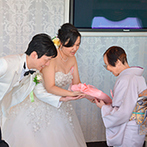 ホテル メルパルク横浜:ゲストへのインタビューで両家の絆を深めた。バースデーソング&スペシャルデザートで祖母の米寿をお祝い!